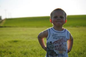 George, summer 2012 - all sass and attitude! Full of life, love and a true blessing through and through!