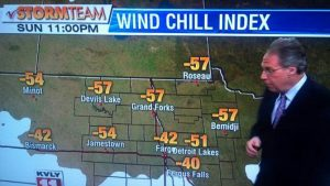So, does this qualify as cold where you're from?