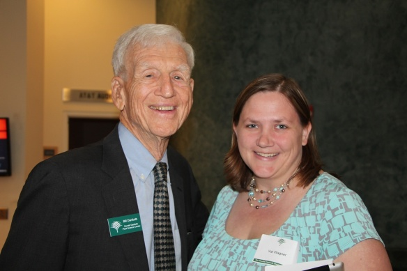 I couldn't imagine not taking the opportunities that are presented to me, like meeting Dr. Bill Danforth, Chairman of the Board of Trustees for the Donald Danforth Plant Science Center.