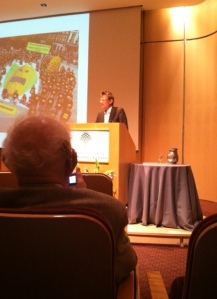 I was lucky enough to be in the audience to hear Mark Lynas give a presentation in St. Louis last week. The opportunity was an amazing one indeed!