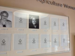 Rumor has it that someone's photo graces Morrill Hall at NDSU. The honor of being named Sigma Alpha's Agricultural Woman of the Year in 2012 for NDSU. I still am in shock and  absolutely blown away.